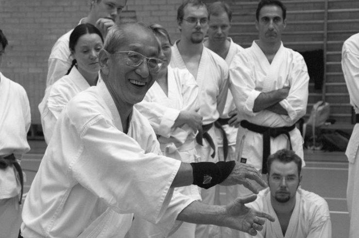 Harada senseï kds en pleine demonstration
